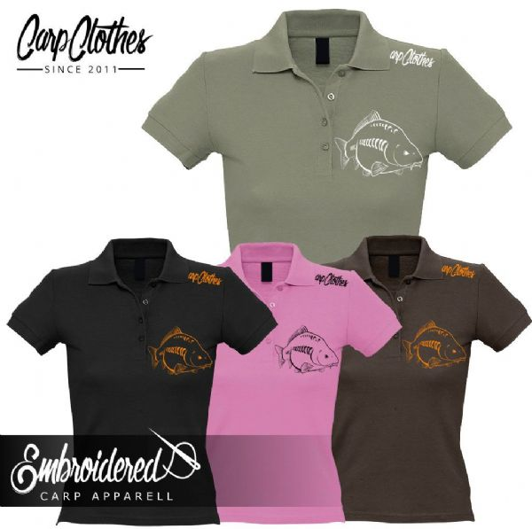 026 LADIES EMBROIDERED POLO